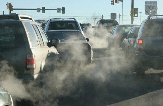 Выброс газов CO, CH.